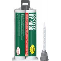 Клей гибридный 2К Loctite HY 4080 CR прозрачный, картридж под пистолет 2х25 гр 10/10