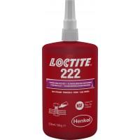 Фиксатор резьбы низкой прочности Loctite 222, 250 мл 1/10