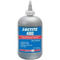 Клей моментального отверждения черный Loctite 480, 500 гр 1/1