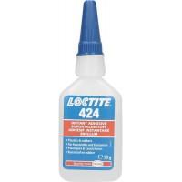Клей моментального отверждения для эластомеров Loctite 424, 50 гр 12/12