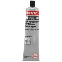 Герметик силиконовый нейтральный LOCTITE SI 598 BK (US) черный, туба 80 мл (блистер) 1/12