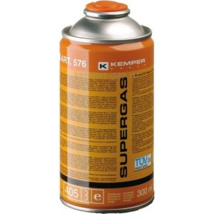 Баллон газовый для горелки газовой KEMPER Supergas, баллон 300 мл 1/1