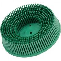 Круг зачистной Ø50 P50 пластик грубый зеленый с креплением Roloc™ 3M™ Bristle™