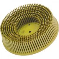 Круг зачистной Ø50 P80 пластик средний желтый с креплением Roloc™ 3M™ Bristle™