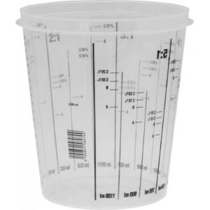 Емкость пластиковая для смешивания красок 650мл (уп. 200шт)