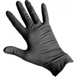 Перчатки нитриловые RoxelPro ROXTOP черные XL, уп 100 шт 1/10