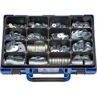 Набор шайб подгоночных DIN522 оцинк. в чемодане (1200шт.), набор