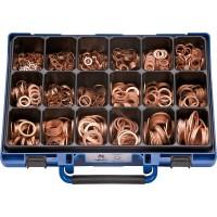 Набор колец уплотнительных DIN7603A медных в чемодане (1190шт.), набор