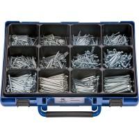 Набор шплинтов DIN94 оцинк. в чемодане (1100шт.), набор