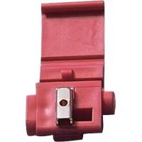 Соединитель-ответвитель кабельный гильотинного типа 0.2-1.5 красный (уп. 100шт.), шт.