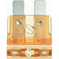 Предохранитель флажковый ATO 5A светло-коричневый (упак. 50 шт.), шт.