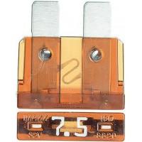 Предохранитель флажковый ATO 7.5A коричневый (упак. 50 шт.), шт.