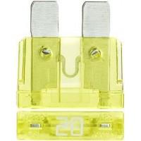 Предохранитель флажковый ATO 20A желтый (упак. 50 шт.), шт.