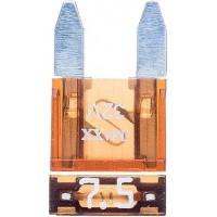 Предохранитель флажковый MINI 7.5A коричневый (упак. 25 шт.), шт.