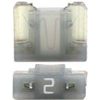 Предохранитель флажковый LOW PROFILE MINI 2А серый (упак. 25шт.), шт.