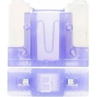 Предохранитель флажковый LOW PROFILE MINI 3А фиолетовый (упак. 25шт.), шт.