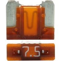Предохранитель флажковый LOW PROFILE MINI 7.5А коричневый (упак. 25шт.), шт.