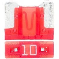 Предохранитель флажковый LOW PROFILE MINI 10А красный (упак. 25шт.), шт.