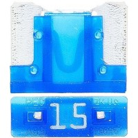 Предохранитель флажковый LOW PROFILE MINI 15А синий (упак. 25шт.), шт.