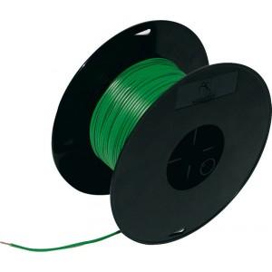 Кабель электрический 1.5 100м на катушке зеленый FLK, шт.