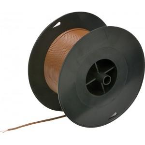 Кабель электрический 2х1.5 50м на катушке красно-коричневый FLK, шт.
