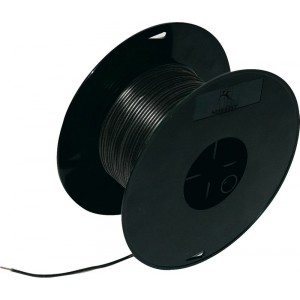 Кабель электрический 0.5 100м на катушке черный FLK, шт.