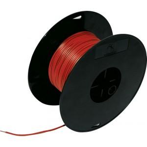 Кабель электрический 0.5 100м на катушке красный FLK, шт.