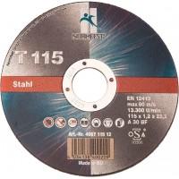 Круг отрезной EHT 115-1.2 A30 BF INOX, шт.