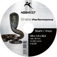 Круг отрезной EHT 125-1.0 A60 BF Snake Performance, шт.
