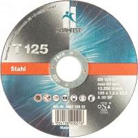 Круг отрезной EHT 125-1.2 A30 BF INOX, шт.