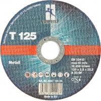 Круг отрезной EHT 125-2.5 A30 BF INOX, шт.