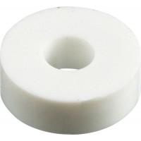 Шайба пластиковая 18x7x6mm для крепления номерных знаков (уп. 100шт.), шт.