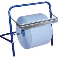 Диспенсер для материалов в рулонах до 400 мм настенный голубой