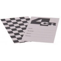 Тест-пластина картонная (250шт.)