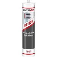 Клей-герметик конструкционный TEROSON MS 939 черный, картуш 290 мл 12/12