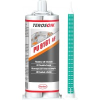 Пена для приклеивания панелей кузова TEROSON PU 9161 AF, картридж под пистолет 2х25 мл 6/6