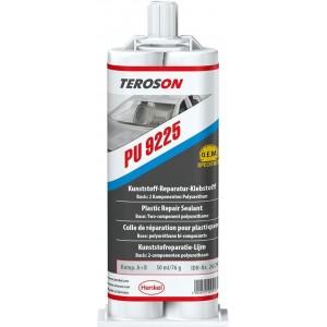 Клей 2К для ремонта деталей из пластика TEROSON PU 9225, картридж под пистолет 2х25 мл 1/6