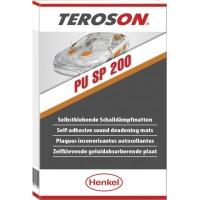 Маты самоклеющиеся для капота TEROSON PU SP 200 100х55 см, уп 2 шт