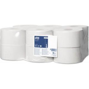 Бумага туалетная в рулоне Mini Tork Universal T2 1сл. 200мх9,5см белый (уп. 12шт.)
