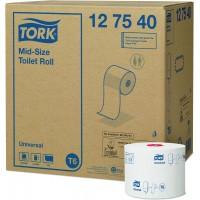 Бумага туалетная в компакт-рулоне AutoShift Tork Universal T6 1сл. 135мх9.9см белый (уп. 27шт.)