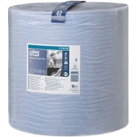 Бумага протирочная TORK Advanced 420 W1/W2 2 сл. 1500л. 510мх37см голубой