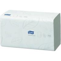 Полотенца листовые ZZ Tork Advanced H3 2сл. 250л. 25х23см белый (уп. 15шт.)
