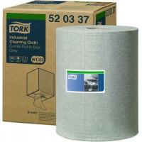 Материал протирочный нетканый Combi TORK Premium 520 W1-3 390л. 148мх32см серый