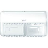 Диспенсер для бумаги туалетной в рулонах Stand T4 Tork Elevation белый (уп. 8шт.)