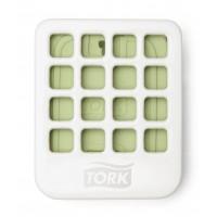 Диспенсер для твердого освежителя воздуха A2 Tork белый (уп. 8шт.)