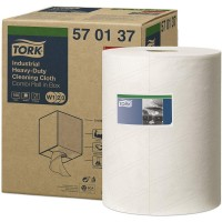 Материал протирочный нетканый TORK Premium 570 W1/W2/W3 160л. 38х32см белый