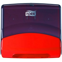 Диспенсер для материалов в салфетках W4 TORK Performance красный