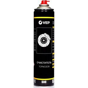 Очиститель тормозных механизмов VEP аэрозольный, 600 мл