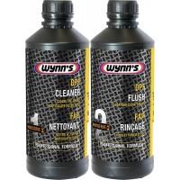 Набор для очистки сажевого фильтра Wynns DPF Cleaner + DPF Flush, комплект 2х1 л 1/6