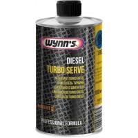 Очиститель турбины дизельного двигателя Wynns Diesel Turbo Serve, бутылка 500 мл 12/12